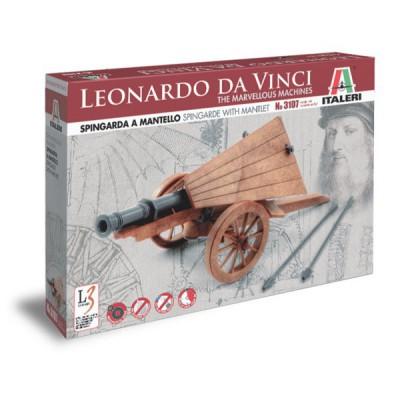Maquette machine Léonard de Vinci: Spingarde - Italeri-3107