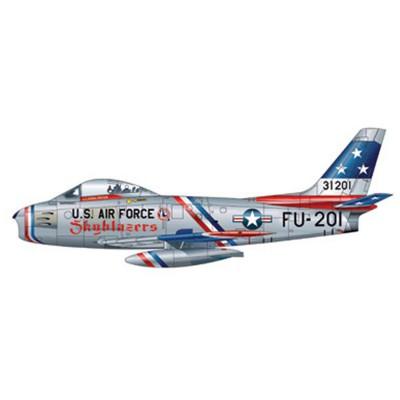Maquette avion : F-86F Sabre Skyblazers - Italeri-2503