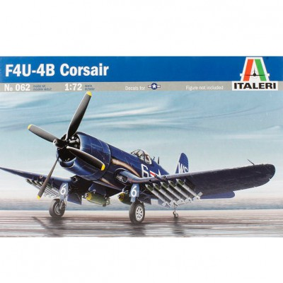 Maquette avion: F 4 U 4B Corsair - Italeri-062