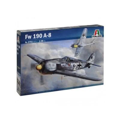 Maquette avion : Focke Wulf Fw190 A-8 - Italeri-2751