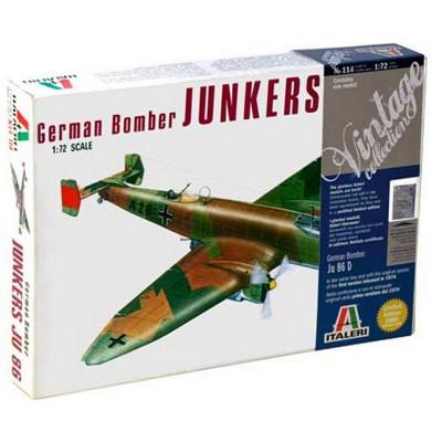 Maquette avion : Junkers Ju86D - Italeri-114
