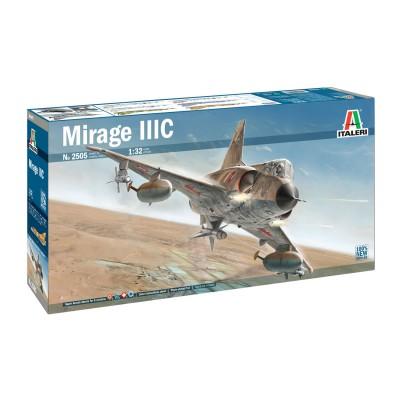 Maquette Avion : Mirage IIIC - Italeri-2505