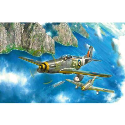 Maquette avion : Mustang Mk. IVa - Italeri-2745