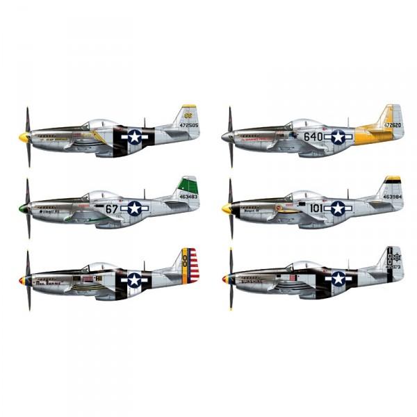 Maquette avion : P-51D/K Mustang As du Pacifique - Italeri-2743