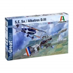 Maquette avion : S.E. 5A et Albatros DIII