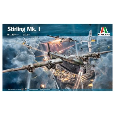 Maquette avion : Stirling MK1 - Italeri-1335