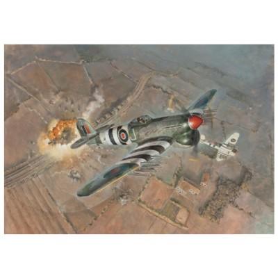 Maquette avion : Typhoon Mk.Ib late - Italeri-2734
