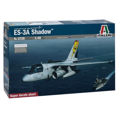 Maquette avion 1/48 : Es-3A Shadow - Italeri-2735