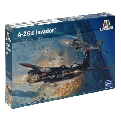 Maquette avion 1/72 : A-26B Invader - Italeri-1358