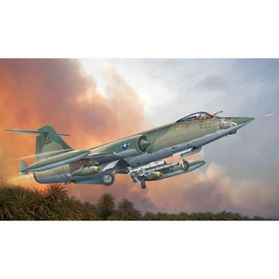 Maquette Avion Militaire : F-104C Starfighter - Italeri-2504