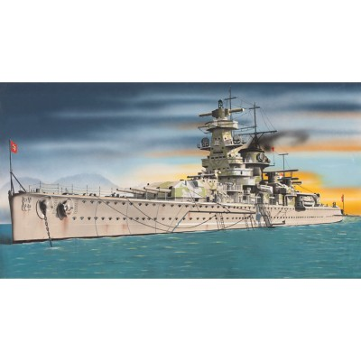 Maquette bateau : Admiral Graf Spee - Italeri-502