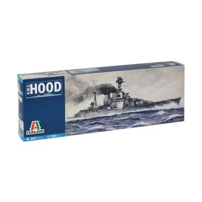 Maquette bateau : HMS Hood - Italeri-501