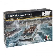 Maquette bateau : LCVP et Infanterie US