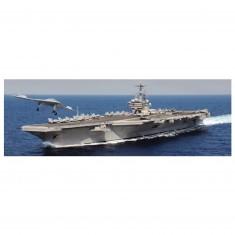 Maquette bateau : U.S.S. GEORGE H.W. BUSH CVN-77