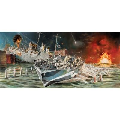 Maquette bateau : Vopser MTB74 Raid Saint Nazaire - Italeri-5619