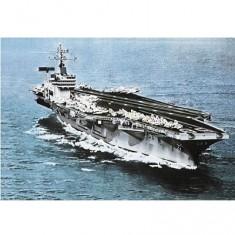 Maquette bateau: Porte-avions U.S.S. Nimitz
