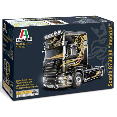 Maquette camion 1/24 : Scania R730 V8