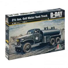 Maquette camion 1/35 : GMC Citerne d'eau