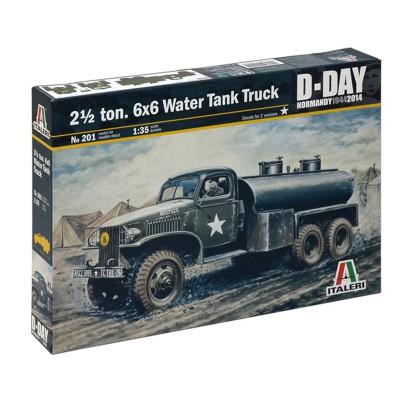 Maquette camion 1/35 : GMC Citerne d'eau - Italeri-201
