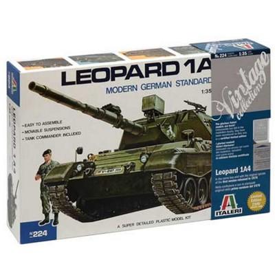 Maquette char : Leopard 1 A4 - Italeri-224