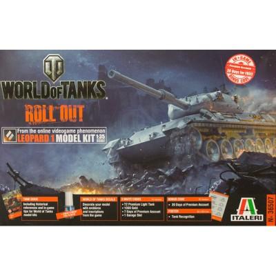 Maquette char : Leopard 1A2 World of Tanks - Italeri-36507