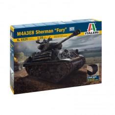 Maquette char : M4A3E8 Sherman