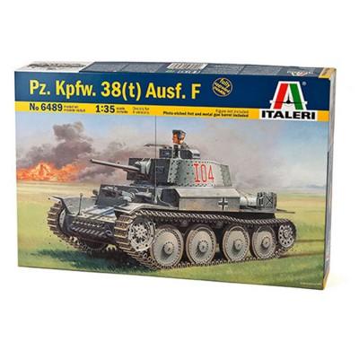 Maquette char : Panzer 38(t) Ausf.F - Italeri-6489