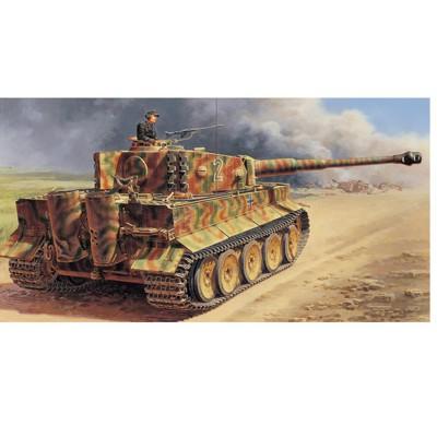 Maquette char : Tiger I Milieu de Production - Italeri-6507