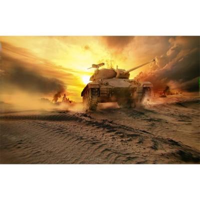 Maquette char : World of Tanks : M24 Chaffee - Italeri-36504