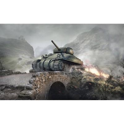 Maquette char : World of Tanks : M4 Sherman - Italeri-36503