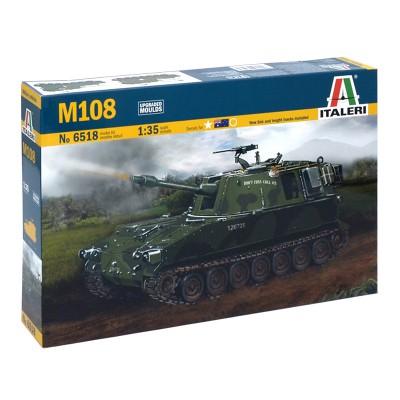 Maquette char 1/35 : M108 - Italeri-6518