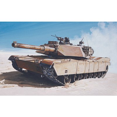 Maquette Char: Model Set : M1 Abrams - Italeri-77001