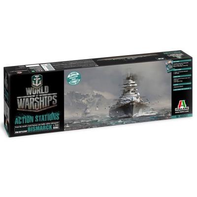Maquette de bateau : Bismarck World of Warships - Italeri-46501