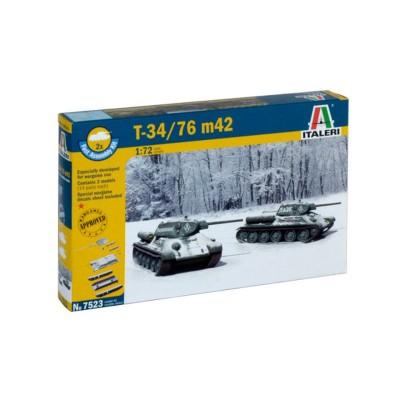 Maquette de char : T-34/76 m42 - Italeri-7523