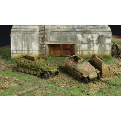 Maquette Half-track : Sd.Kfz.251/1 Ausf.D (x2) - Italeri-7516
