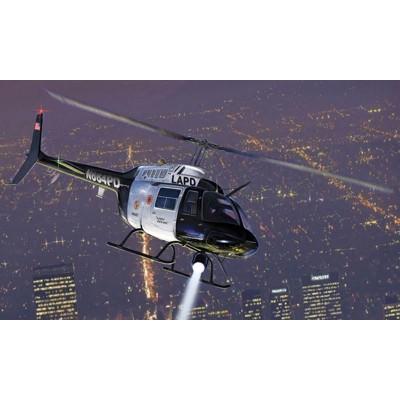 Maquette hélicoptère : Bell 206 Jet ranger - Italeri-1372