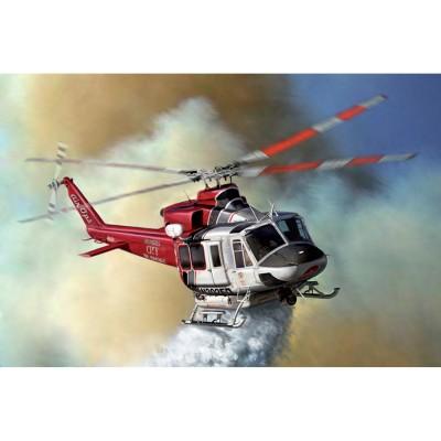 Maquette hélicoptère : Bell 412 LA Fire Department - Italeri-70391