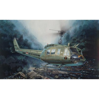 Maquette hélicoptère : UH 1D - Italeri-849
