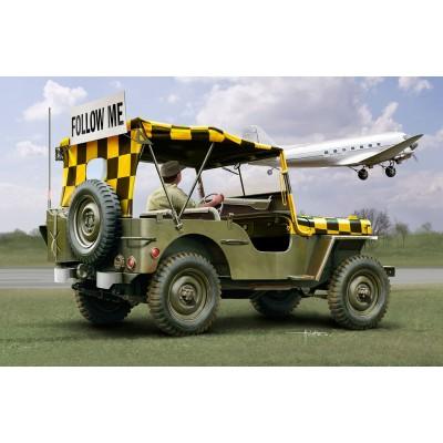 Maquette Jeep : Willys Jeep Follow Me - Italeri-70390