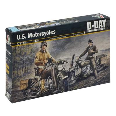 Maquette moto 1/35 : Motos US - Italeri-322