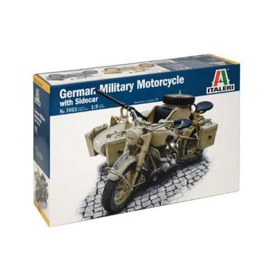 maquette moto militaire bmw r75 sidecar italeri rue des maquettes. Black Bedroom Furniture Sets. Home Design Ideas