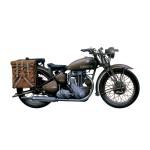 Maquette moto militaire : Triumph 3HW