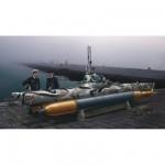 Maquette sous-marin : Sous-marin de poche Biber