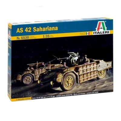Maquette véhicule militaire : AS 42 Sahariana - Italeri-6530