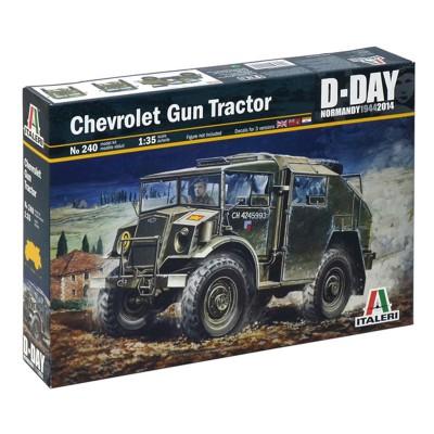 Maquette véhicule militaire : Chevrolet Gun Tractor - Italeri-240
