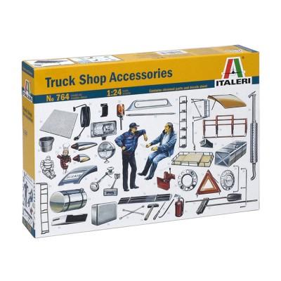 Maquettes 1/24 : Accessoires camion - Italeri-764