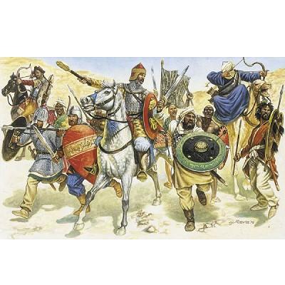 Figurines médiévales: Maures / Sarrazins du XIème siècle - Italeri-6010
