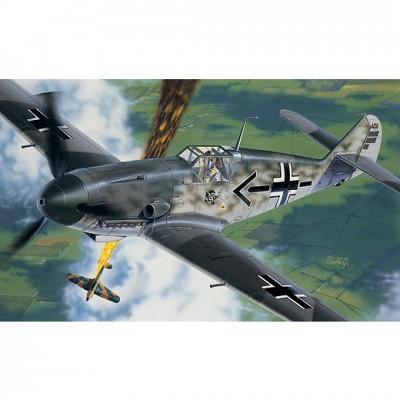 Maquette avion: Messerschmitt BF-109 F2/4 - Italeri-053