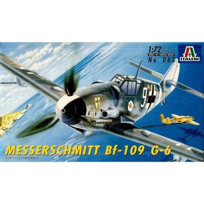Maquette avion: Messerschmitt BF-109 G-6 - Italeri-063