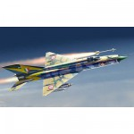 Maquette avion : MiG-21 MF Fishbed